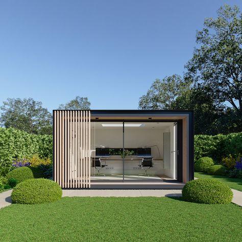 "garden room | office || ""Sky Pod"" by Pod Space"