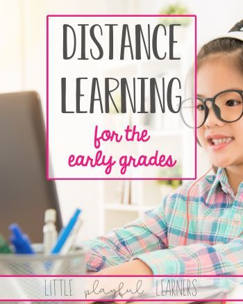 Distance Learning for the Early Grades First Grade Lessons, Teaching First Grade, First Grade Reading, First Grade Classroom, Play Based Learning, Blended Learning, Home Learning, Learning Resources, Kindergarten Learning