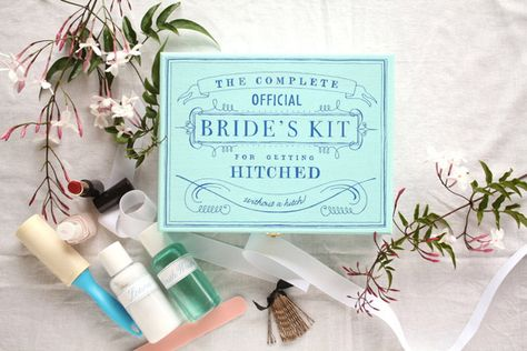 Make a bride kit for someone getting married!