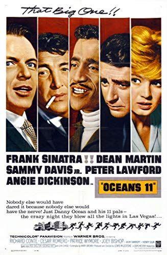 Ocean S 11 1960 Classic Movie Posters Original Movie Posters Oceans 11 Movie