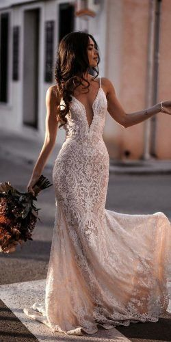 Wedding Dresses Backless Red Hottest Wedding Dresses Collections for best wedding dresses with spaghetti straps full lace beach sexy galialahav Country Wedding Dresses, Dream Wedding Dresses, Bridal Dresses, Fitted Wedding Dresses, Backless Mermaid Wedding Dresses, Trumpet Wedding Dresses, Wedding Dresses Fit And Flare, Simple Sexy Wedding Dresses, Casual Country Wedding