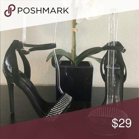Shoe Republic LA sandal heels These 5