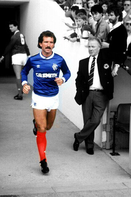 Graeme Souness, during his time with Rangers.