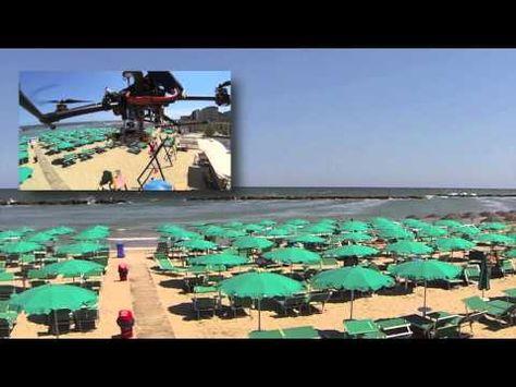 ▶ Drone radiocomandato - Test del vento per la stabilità - YouTube  #meteo #drone