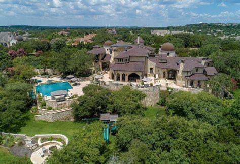 On The Market A Majestic Villa In The Heart Of Austin Mansions For Sale Luxury Real Estate Portofino