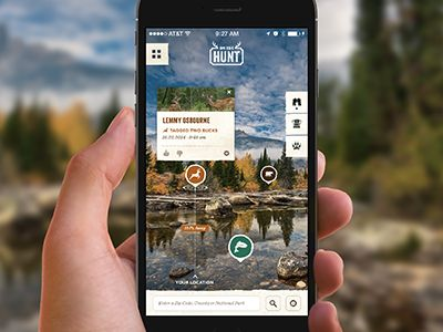 Hunting App (Augmented Reality) by Celerity Creative