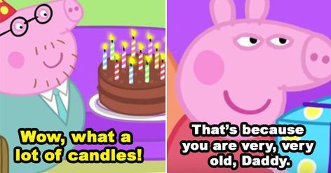 17 Times Peppa Pig Was Just An Absolute Savage Peppa Pig Memes Peppa Pig Funny Peppa Pig Wallpaper