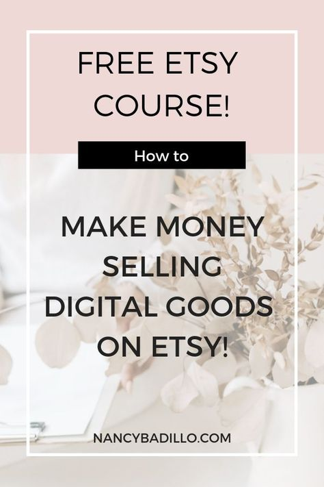 FREE Etsy Course