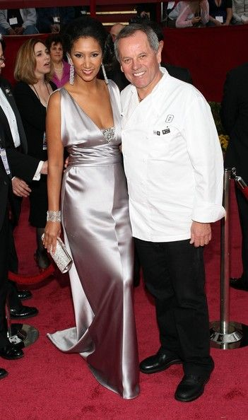 Wolfgang Puck And Gelila Assefa, 2008 - The Cutest Oscar Red Carpet Moments Of The Decade - Photos