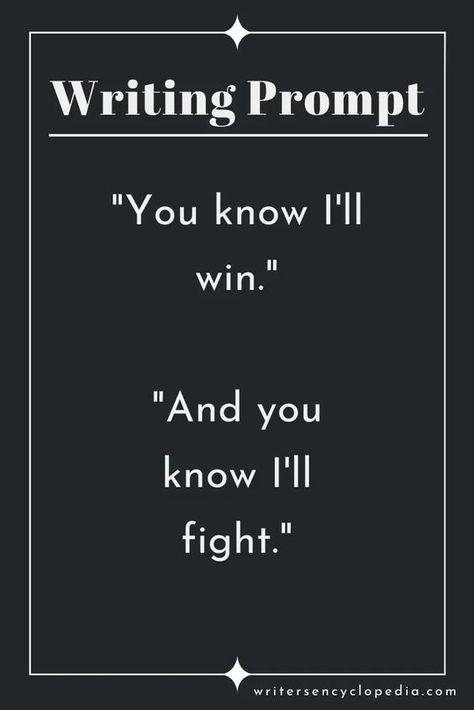 I'll win.