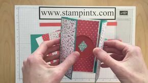 Pin By Barbara Spray On Cardmaking Card Making Tutorials Gatefold Cards Card Tutorial