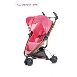 #Quinny Zapp Xtra Precious Pink having features like front swivel wheel can be fixed, extremely manoeuvrable and frame can be used with Maxi-Cosi Mico Infant #Carrier.