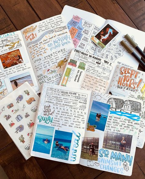 16 Bullet Journal Travel Page Ideas To Inspire Some Serious Wanderlust - TheFab20s