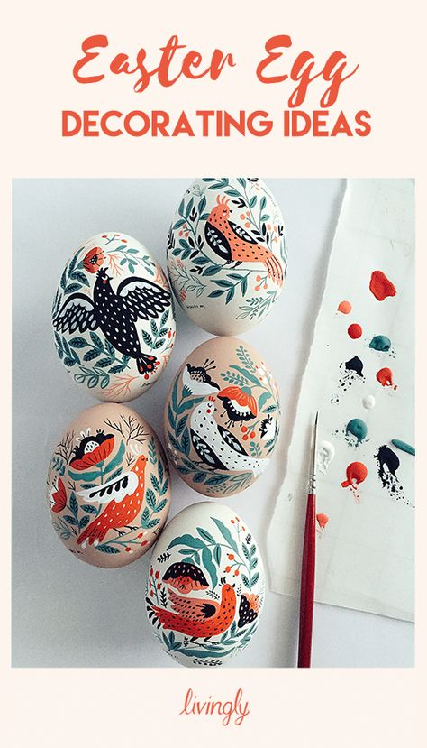 The cutest Easter egg ideas to decorate with your kids.