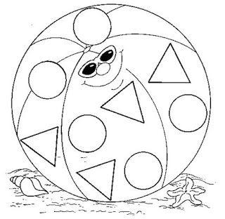 Dibujos De Las Figuras Geometricas Para Colorear Kids Worksheets