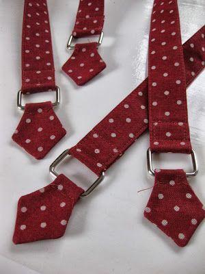 how to make bag's straps