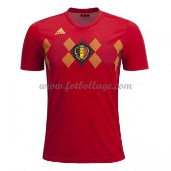 Billiga Fotbollstrojor Belgien Vm 2018 Hemmatroja Fotbollstrojor Vm 2018 Belgien
