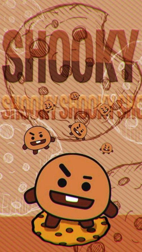SHOOKY BT21 Wallpaper