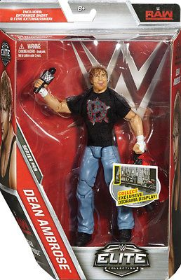NEW MATTEL TOY WRESTLING WWE ACTION FIGURE SERIE ELITE 48