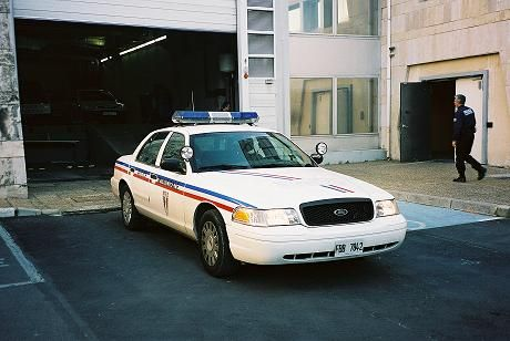 1 Of Only 4 Ford Cown Victoria Police Interceptors That Were Bought Directly New From The Factory And Sent To A French Police Municipale Police Department