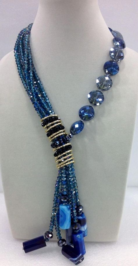 Long Tassel Necklace--photo only