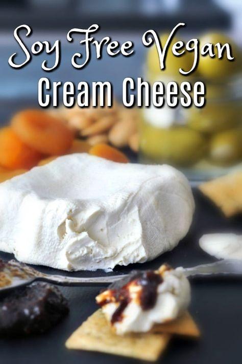 Vegan Cream Cheese @spabettie #vegan #glutenfree #soyfree #oilfree #dairyfree