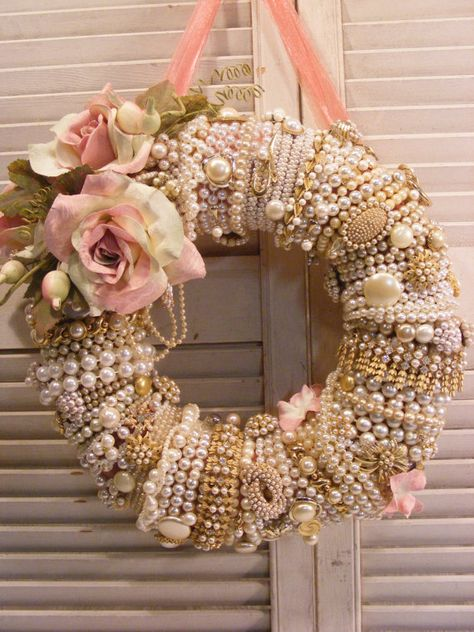 Shabby Chic GlamourVintage Pearl Collection by Dunewooddesigns