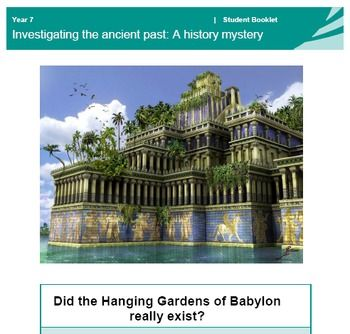 This Is A Complete Teaching Package For The Hanging Gardens Of Babylon One Of The 7 Wonders Of The Ancie Mystery Of History Gardens Of Babylon Babylon History