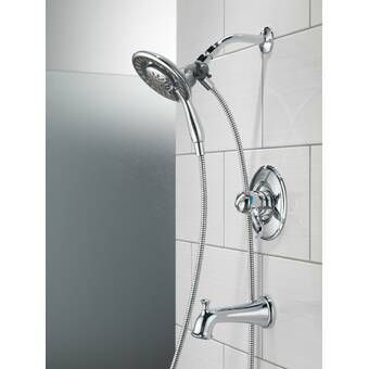 Ashlyn Pressure Balance And Temperature Control Shower Faucet Shower Systems Shower Faucet Shower Heads