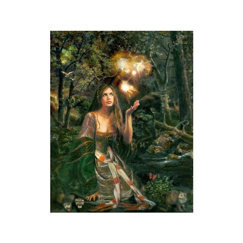 Realistic Oil Paintings begun in digital media by Howard David Johnson ($799) ❤ liked on Polyvore featuring home, home decor, wall art, backgrounds, fairies, fantasy, pictures, photo, photo picture and fairy wall art
