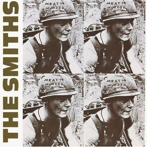 The Smiths- Meat Is Murder Poster 24 x This poster features an image for the album cover of