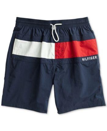 Tommy Hilfiger Vintage Swim Trunks Swimming Beach Sports Water Shorts