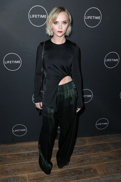 Christina Ricci attends the Lifetime Winter Movies Mixer at the Andaz Hotel.
