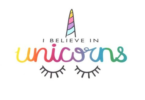 I believe in Unicorns patch Applique Iron-On Heat Transfer Vinyl Sticker - Headbands, Bows, Journals