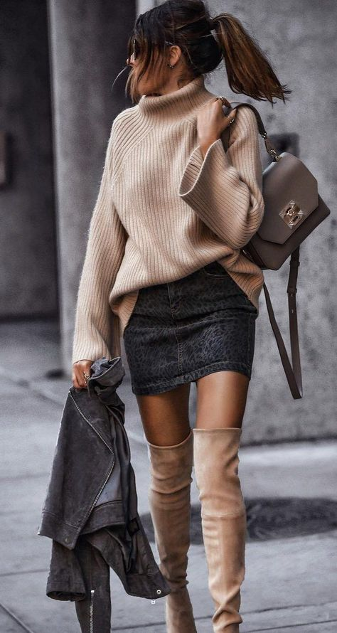Style Tips on How to Wear Leather Jacket 2019 – Page 5 of 24