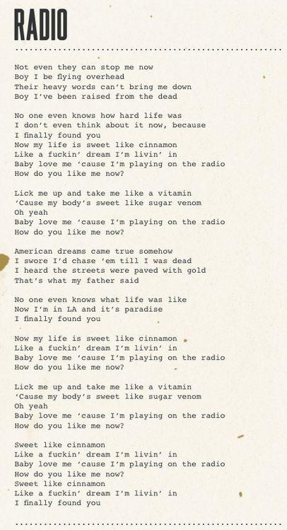歌詞 ベノム