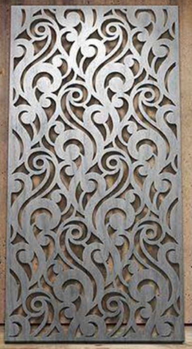 DXF Plan Carved Wood Panels Interior Partitions Wood Wall Panel Art Room Partition Interior Designers Home Decor  Decorative screen project