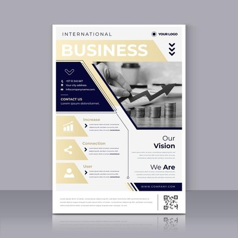 Download Business Flyer Print Template for free