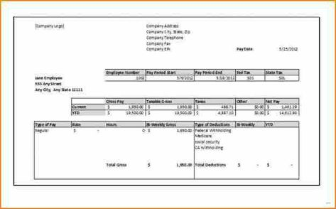 1099 Contractor Pay Stub Template Best Of 12 Pay Stub For Independent Contractor Template Payroll Template Statement Template Printable Checks