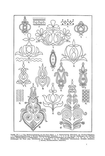 Magyar ornament part1 by aenota_magic_of_color, via Flickr