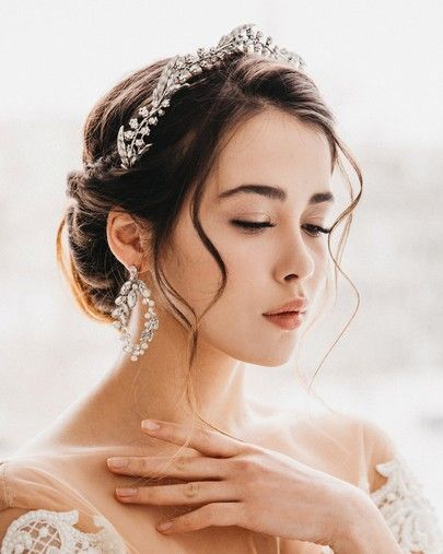Stunning Bridal Tiara Royal Wedding Inspired Wedding Crown Tiara Hairstyles Bridal Hair Headpiece Wedding Hair Accessories