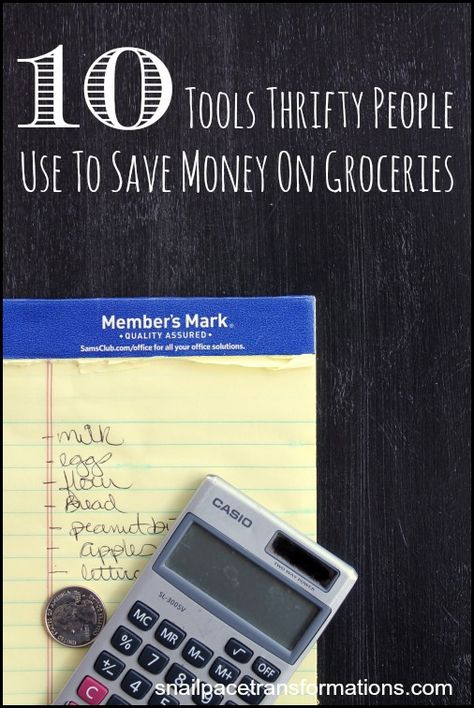 10 Tools Thrifty People Use To Save Money On Groceries