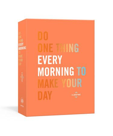 365 quotes and prompts to help you put your best foot forward at the start ofevery single day--part of the bestselling Do One Thing Every Day journalseries.    Just like breakfast is the most important meal of the day, what you do whenyou first wake up is important for setting the tone of the day in terms ofmood, motivation, and overall wellness. Do One Thing Every Morning to MakeYour Day is the best way to start every day to live a happier, healthierlifestyle.    This guided journal offers a qu