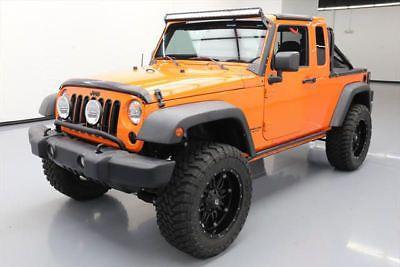 2012 Jeep Wrangler Sport Jk 8 Truck 4x4 Lift 6 Spd Nav 160212