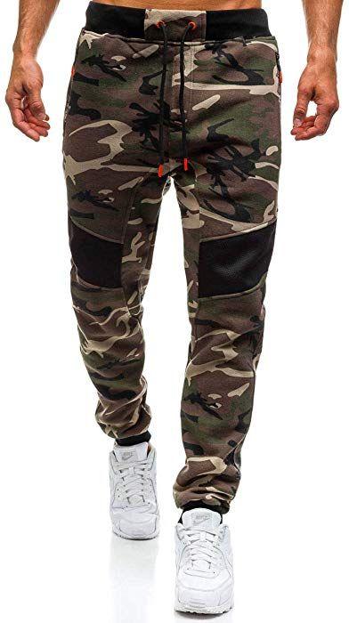60c264d562 BOLF Men's Jogger Sweatpants Military Army Style J.Style 55017 ...