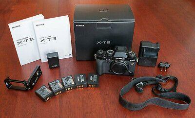 Fuji Fujifilm X T3 Digital Camera Black Body Only 5 Digital Camera Digital Camera