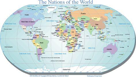 Free Printable World Maps Outline World Map