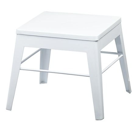 Cool Stool Step Squared Up Stool Metal Step Stool Metal Stool Gmtry Best Dining Table And Chair Ideas Images Gmtryco