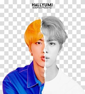 Bts Love Yourself Answer L Ver Man In Blue And White Top Transparent Background Png Clipart Transparent Background Overlays Transparent Background Transparent