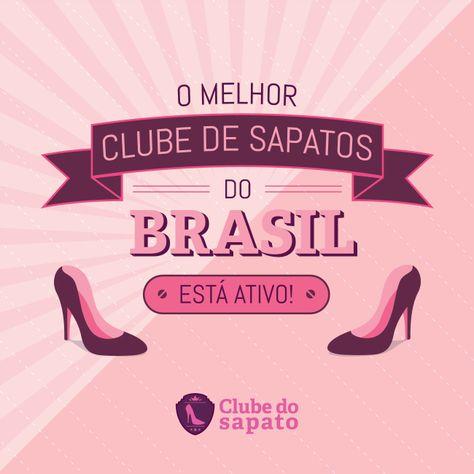 Divulgação de lançamento do ecommerce Clube do Sapato.